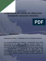 Determinacion Zonas de Alteracion Mediante Sensores Remotos