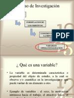 II Parte Variables