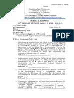 10th Agenda March 9, 2015