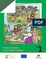 Modulo de Capacitacion Derechos de Nuestros Pueblos Indigenas Cartilla 1 Nuestros Derechos Como Pueblos Indigenas