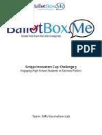 BallotBox.Me Executive Summary