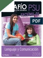 PSU Ensayo Lenguaje 01