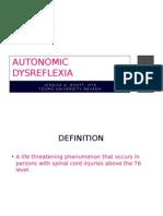 autonomic dysreflexa final