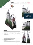 castillo europeo papel