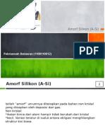 Slide Amorf Silikon