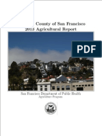 2013 City and County of San Francisco Crop Report