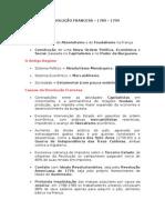 A REVOLUÇÃO FRANCESA – 1789 – 1799