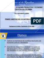 Present-Pol-Fiscal -Seminatio U Cartagena 15-09-2006[1]