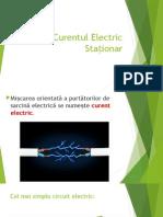 Curentul Electric Stationar