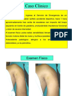 9) Caso clínico traumatologia
