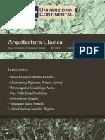 Arquitectura Clásica