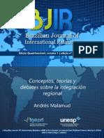 Conceptos, Teorías y Debates Sobre La Integración Regional1