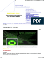 APK MANIA™ Full » RAM Manager Pro v7.0.5 APK