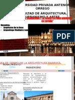 Arq. Barroca España