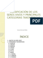 Categorias Taxonomicas de los seres vivos.pptx