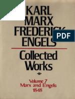 Marx & Engels Collected Works - V. 07 - (M_E) 1848, Articles for Neue Rheinische Zeitung