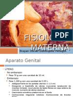 Fisiología Materna Del Embarazo