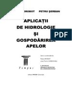 Hidrologie Aplicatii - Radu Drobot