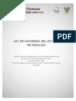 Ley Hacienda Hgo