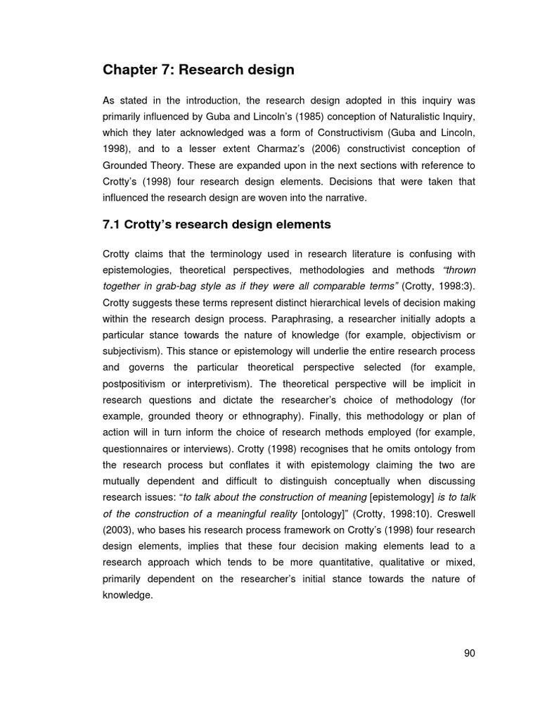 7 Research Design Qualitative Research Focus Group