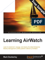 Learning AirWatch - Sample Chapter