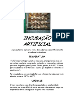 Incubacao Artificial