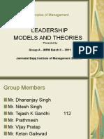 Leadership Models Theories