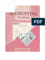 `A` Level Accounting -                H Randall