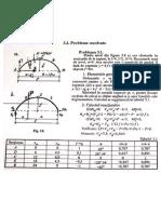 Exemplu de calcul pentru eforturi la arce