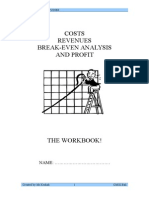 Break Even Workbook