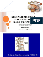 Asuhan Keperawatan gawatdaruratTrauma Spinal