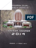 Laporan Tahunan 2014 Mahkamah Agung Republik Indonesia