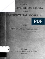 Oxyrhynchus Logia and Apocryphal Gospels