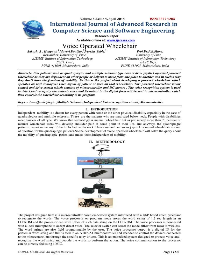Voice Recognition Circuit