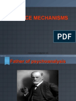 Defense mechanisms in Human Psychology