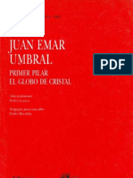Juan Emar - Umbral - Primer Pilar - El Globo de Cristal