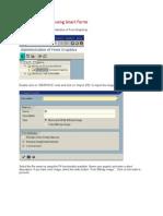 Displaying Graphics Using Smart Forms