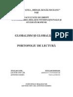 Globalism Si Globalizare