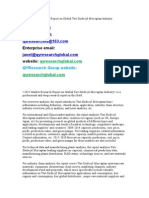 2015 Market Research Report on Global Tert-Dodecyl Mercaptan Industry