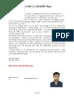 CV Sharath 2014