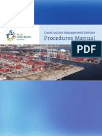Construction management procedure