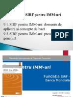Tema 9 SIRF Pentru IMM-uri