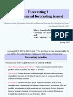 Forecasting i