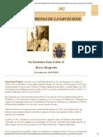 Www.vatican.va News Services Press Documentazione Documents Santopadre Biografie Giovanni Paolo II Biografia Breve Sp