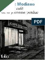 Dans Le Café de La Jeunesse Perdue de Patrick Modiano
