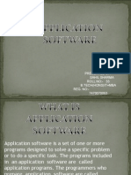 Application Software 17
