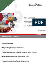 Managing Ageing Assets via ALE OGRE - Mike Spalding - ConocoPhillips UK Limited