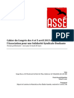 Cahier de Congres Avril 2015 Version 30 Mars
