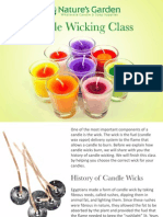 Candle Wicking Class