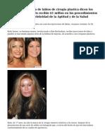 Kylie Jenner recibio de labios de cirugia plastica dicen los expertos